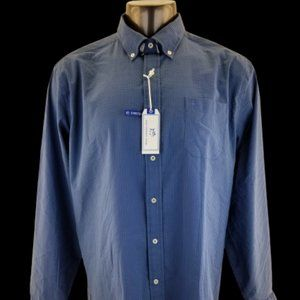 SOUTHERN TIDE LS CLASSIC FIT  Mens COTTON Blue See